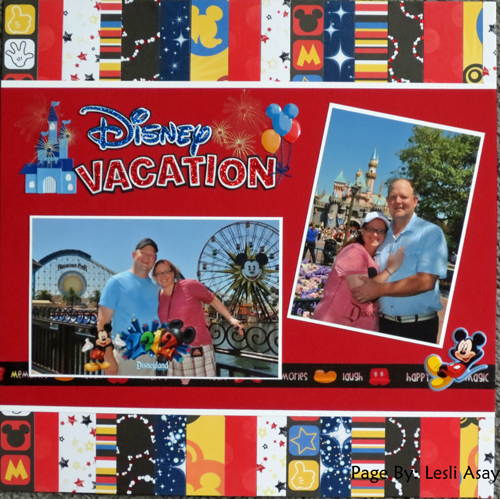 Disney Vacation 2012
